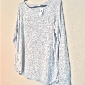 NWT Lightweight Grey GAP Sweater